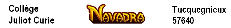 «Navadra» un jeu sérieux en mathématiques