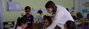 Une classe flexible ; une pratique pédagogique centrée sur les élèves