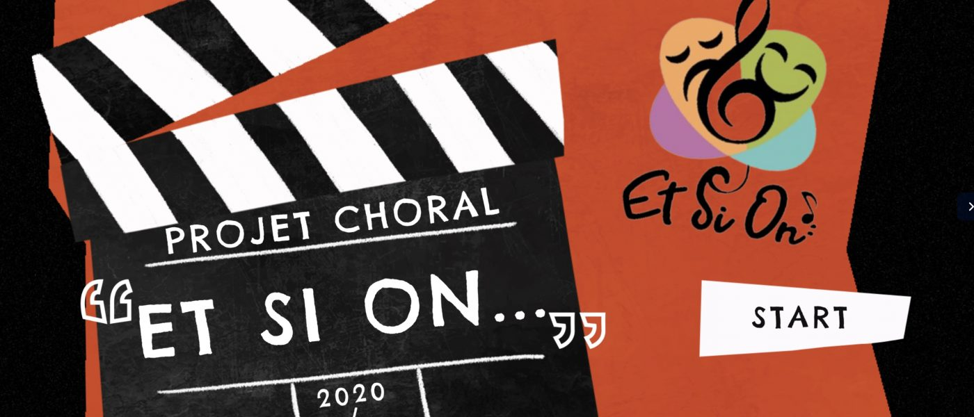 Projet choral : «Et si on chantait …»